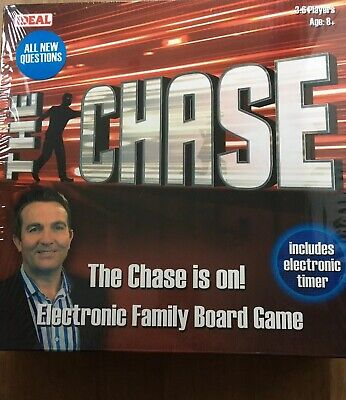 THE CHASE FAMILY Board Game Ideal Trivia Quiz TV Show Card ITV