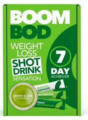 BOOMBOD 7 Day Achiever 21 Sachets - Sent out of Box - Lemon and Lime
