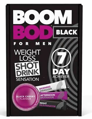 BOOMBOD 7 Day Achiever 21 Sachets - Sent out of Box - Black Cherry - for Men