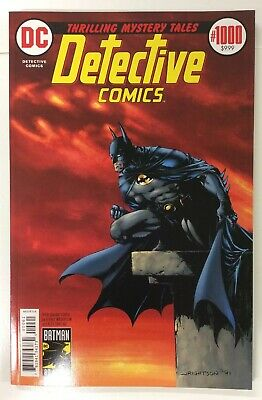 Detective Comics #1000 1970s Wrightson/Sinclair Variant