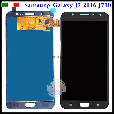 Display LCD Touch Screen Samsung Galaxy J7 2016 J710 SM-J710FN Schermo Vetro