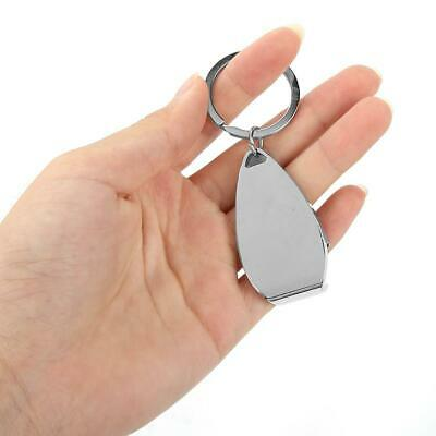 Durable DIY Bottle Opener Keychain Key Metal Beer Openers Kitchen Drink Bar Tool