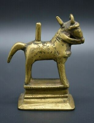 Near Eastern brass horse figurine C. 18th century AD