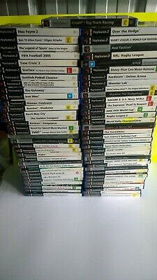 Bunch of Sony ps2 PlayStation 2 games been tested mint discs ready to post