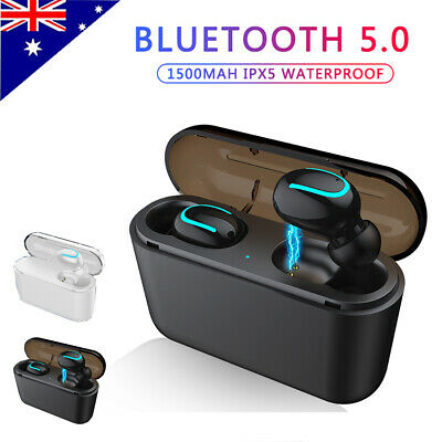 Mini TWS True Wireless In-Ear Bluetooth V5.0 3D Stereo Earphones Earbuds Headset