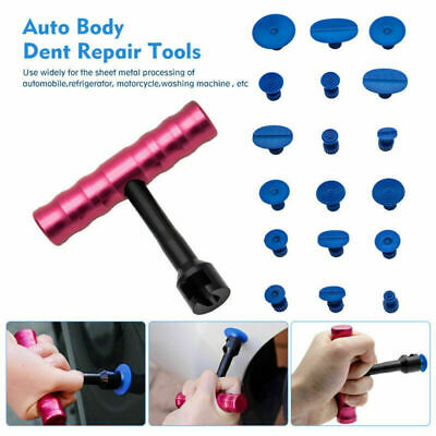 AUTO BODY grandine Puller Tabs Paintless Strumento riparazione dentale T  BAR IT