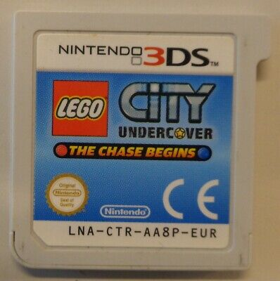 Console Game Gioco NINTENDO 3DS DS EUR ITA Lego City Undercover The Chase Begins