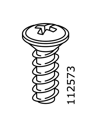 x IKEA # 110789 # 126860 New Screws Replacement Parts 2