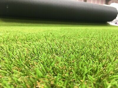 Cheap Artificial Fake Grass Clearance Roll End Remnant 35mm Off Cuts Astro Turf