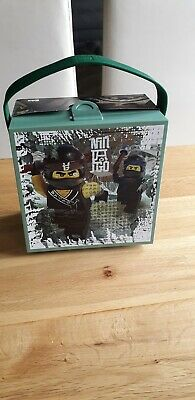 Lego Ninjago Movie Box with Handle Portable Lunch Box Sand Green rc40511741