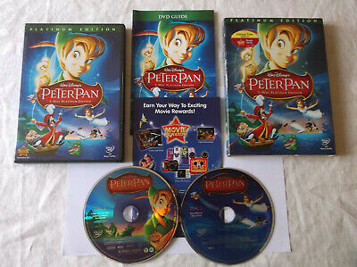 Walt Disney's Peter Pan (2 DVD Set, Platinum Edition,with inserts & slip cover)