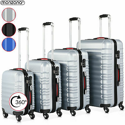 Hartschalenkoffer Kofferset Trolley 4 Rollen Reise Koffer Set S M L XL Hard Case