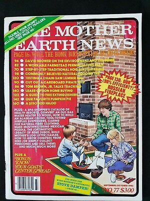 1978 Calendar September.Mother Earth News 1978 No 51 May June With Calendar Bonus Foldout