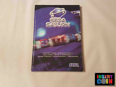 Manual Consola Sega Saturn - Ics/7021