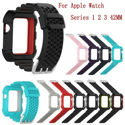 Correa Reloj Silicona Recambio Para Apple Watch Series 1 2 3 42MM Reloj Pulsera