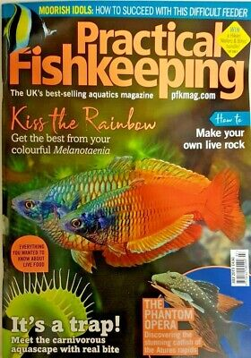 Practical Fish Keeping Magazine July 2019 = Make Your Own Live Rock = Live Food