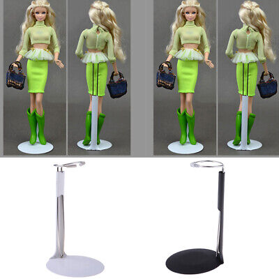 2Pcs Adjustable Height Stand Support Holder Hanger Doll Display Accessory