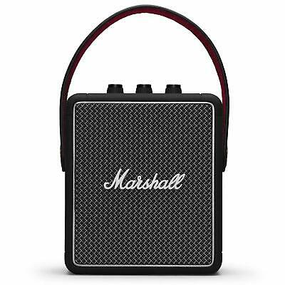 Marshall Stockwell II Portable Wireless Bluetooth Speaker - Black