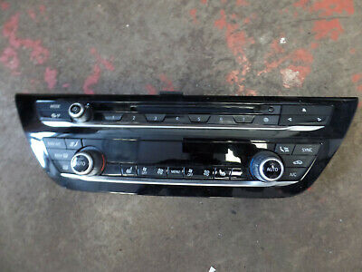 Genuine Bmw 5 series G30 G31 heater control panel with radio control 6834435