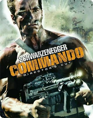 Commando - the Director's Cut - Limited Edition Steelbook [Blu-ray] New & Sealed