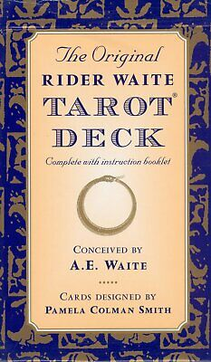 New 78 Rider Waite Tarot Cards Deck Oracle Kit Gothic Set With Guidebook
