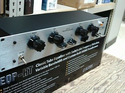Klark Teknik EQP-KT Classic Tube Equaliser with Switchable frequency selection