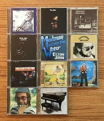 ELTON JOHN - The Classic Years 11 Album CD Collection
