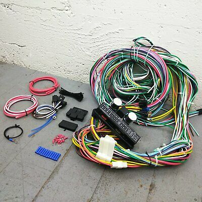 1940 Ford Deluxe Wire Harness Upgrade Kit fits painless compact circuit update