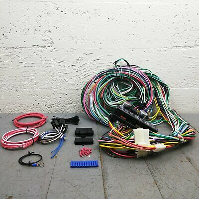 1935 mopar chrysler wire harness upgrade kit fits painless terminal circuit  new