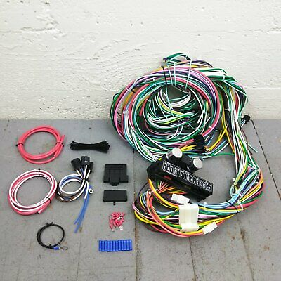 rebel wire 21 circuit universal street rod wiring harness usa made1970 1971 amc rebel matador wire harness upgrade kit fits painless new update