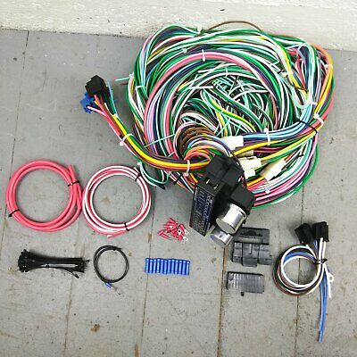 1970 chevrolet chevelle wire harness upgrade kit fits painless fuse block  update