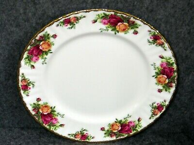 """Royal Albert Vintage  """"Old Country Roses"""" 10 1/2"""" Dinner Plate - NWT"""