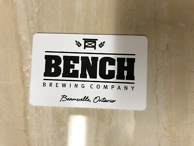 Bench Brewing Company Gift Card - $25 Mail Delivery