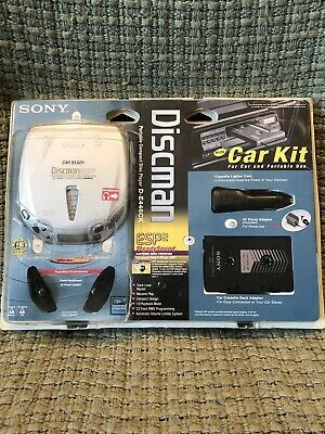 Sony Discman ESP2 Portable CD Player D-E446CK
