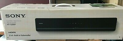 Sony HT-S200F 2.1ch Sound Bar with Built-in Subwoofer and Bluetooth HTS200F