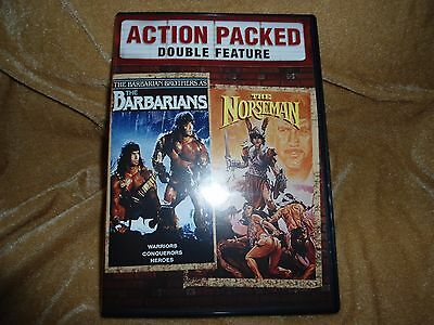 The Barbarians (1987) / The Norseman (1978) : Double Feature (1 Disc DVD)
