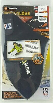 DryGuy Cold Weather Boot Gloves - Black New Fast Free Shipping Large
