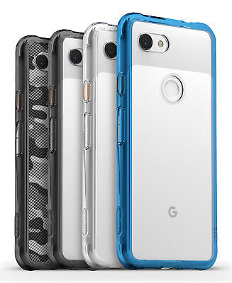 For Google Pixel 3a XL | Ringke® [FUSION] Clear Shockproof TPU Bumper Cover Case