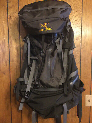 aaabf56c8a Arcteryx Bora 80 Tall Internal Frame Backpack Black, Never Used