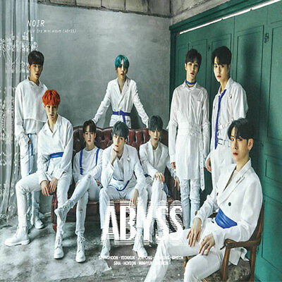 NOIR - 3rd mini album ABYSS (CD+BOOKLET+PHOTOCARD) (KpopStoreinUSA)