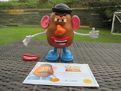 ThinkWay Disney Pixar Toy Story 3 4 Collection MR POTATO HEAD Part Popping W COA