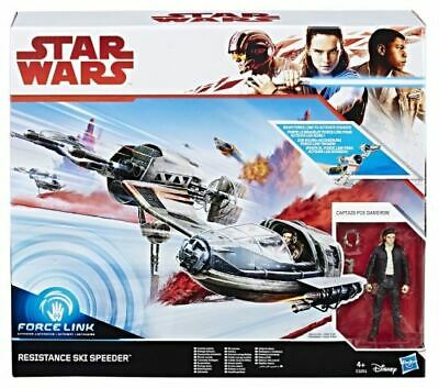 Star Wars Episode VIII Force Link Class C 2017 Resistance Ski Speeder Raumschiff