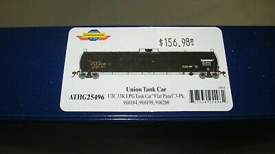 "Athearn Genesis HO UTC 33K Gallon LPG Tank Car ""Early"" UTLX 3-Pack ATHG25496"