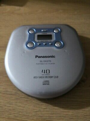 PANASONIC SL-SX270 Portable CD Player Walkman