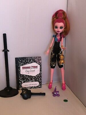 Monster High Doll Gigi Grant 13 Wishes Doll With Pet
