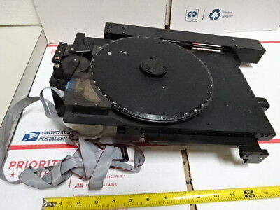 Semprex 12-9268 Polyvar Stage Table Micrometer Wafer Inspection Microscope #Te-1
