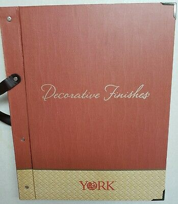 Decorative Finishes Textured Wallpaper Sample Book Scrapbooking Paper Crafts