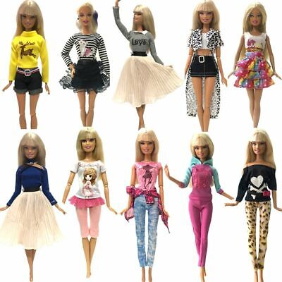 Fashion Doll Dress Costume Handmade Clothes Outfits Kids Gift Toys Accessories