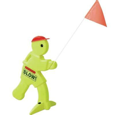 Kid Alert Visual Warning Sign Children Play Safety Road Signal Outdoor Camping