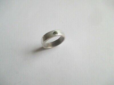 STERLING SILVER Ring....with 4 brass screws..solid/sturdy..New